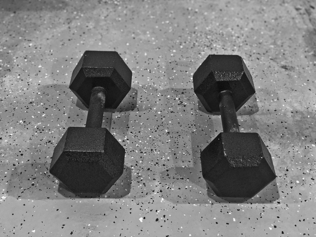 Only One Set Of Dumbbells Needed For A Full Body Workout