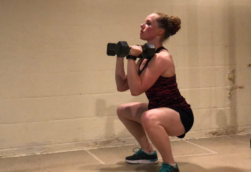 Thrusters For a Full Body Workout