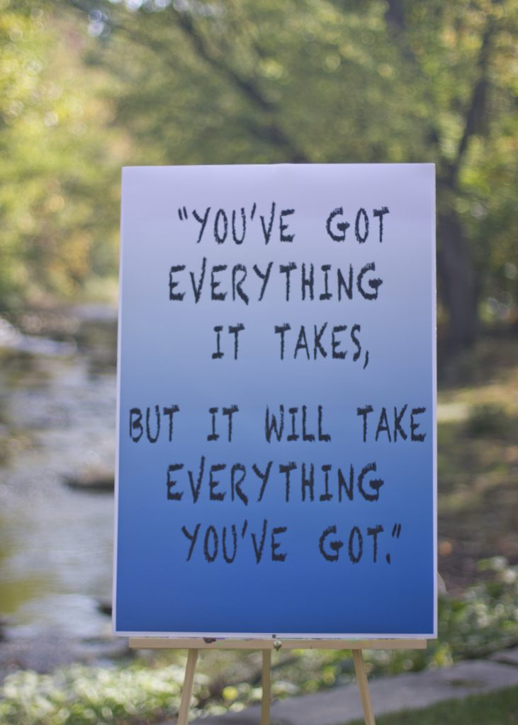 You've Got Everything It Takes Poster