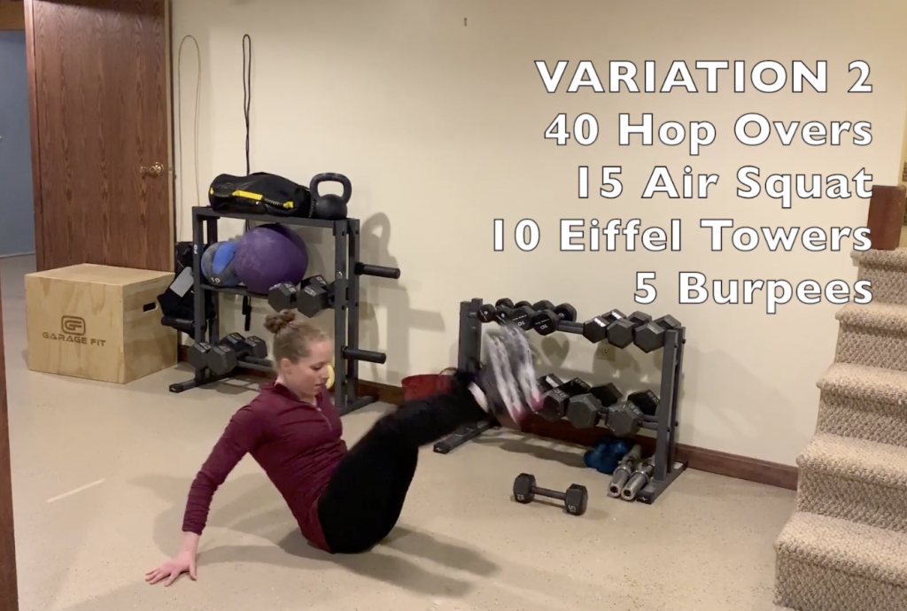 15 Minute Home Workout Variation 2