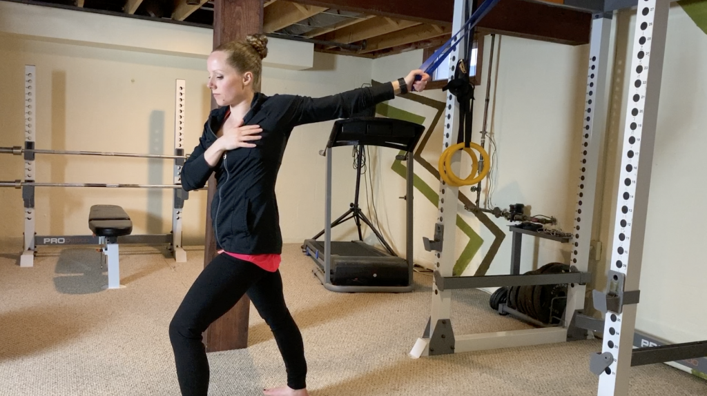 Resistance Band Chest Opener Stretch