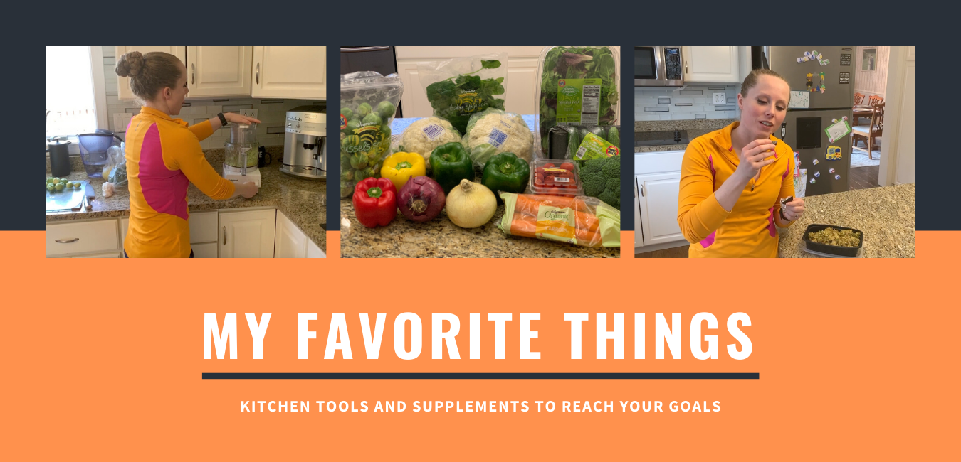 Kitchen Tools and Supplements to Reach Your Goals